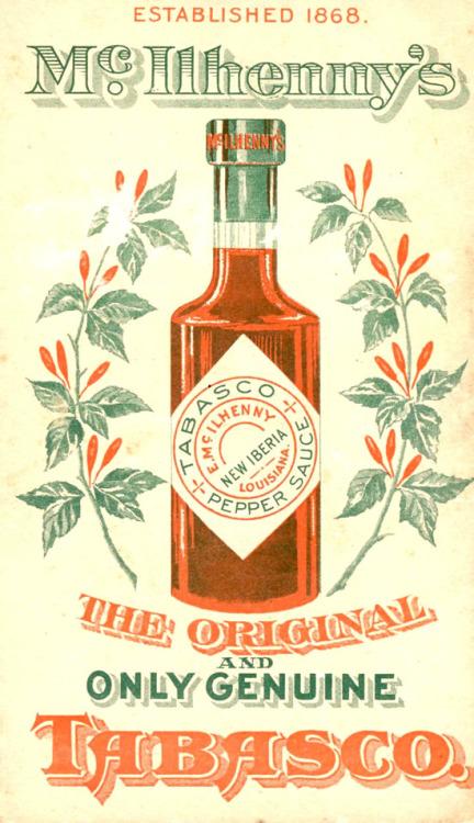 Tabasco Vintage Ad