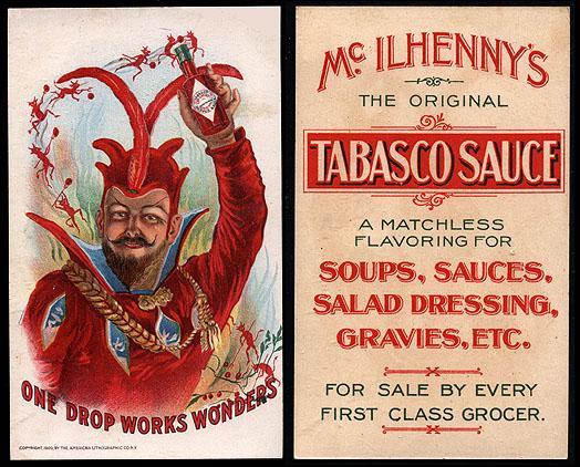 Victorian Tabasco Box Ad