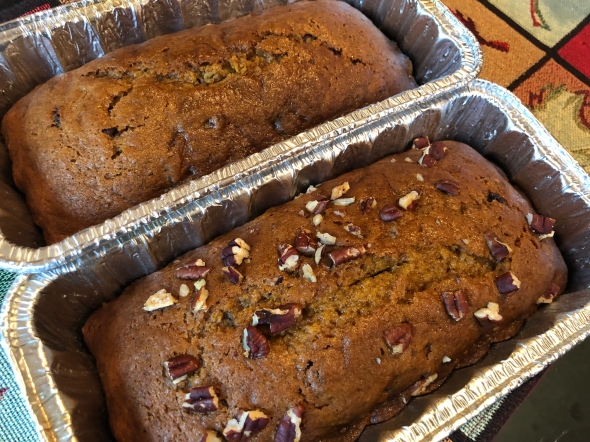 Pumpkin Bread Recipe From Betty's Cook Nook