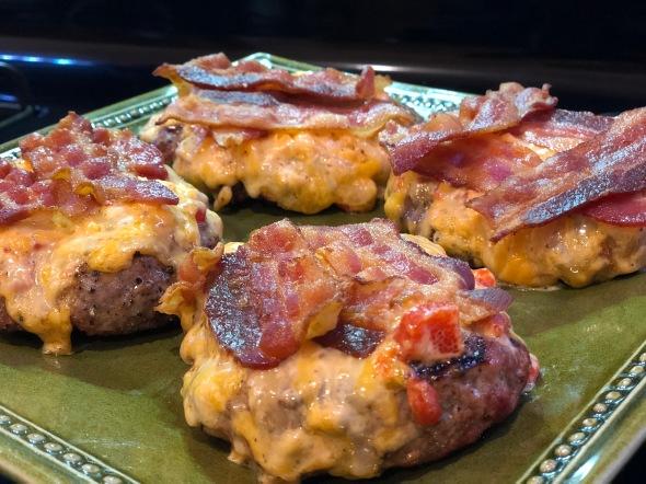 Pimiento Cheese Bacon Burger