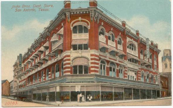 Joskes Department Store Postcard