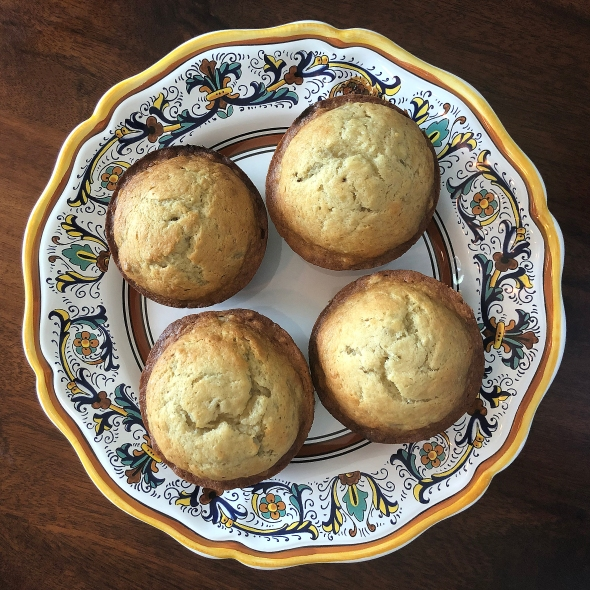 the best banana bread muffins