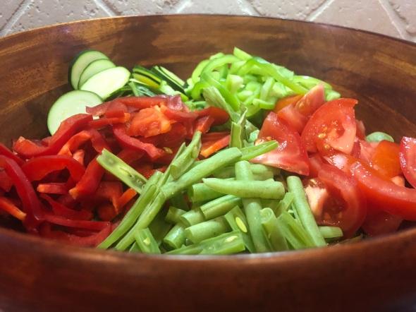 Garden Salad Veggies