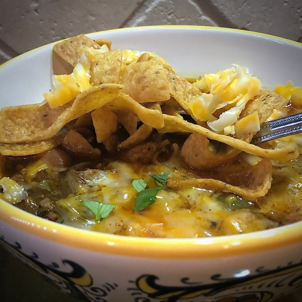 Playboy Chili with Fritos